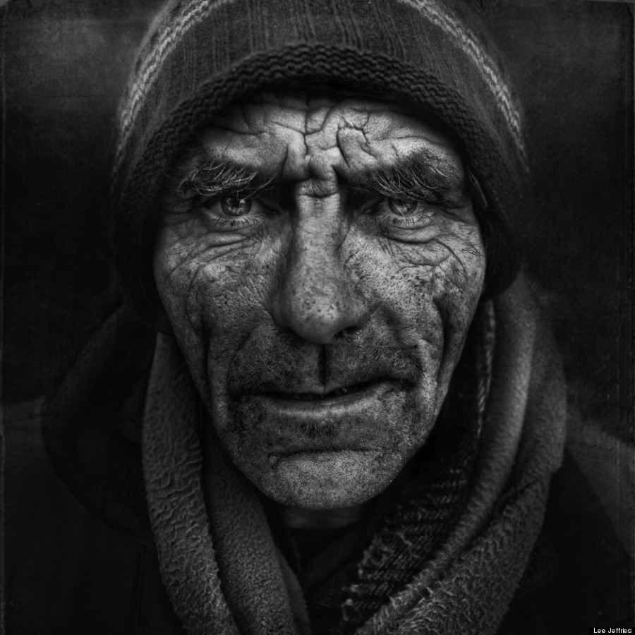 Expressive portraits by photographer Lee Jeffries ...